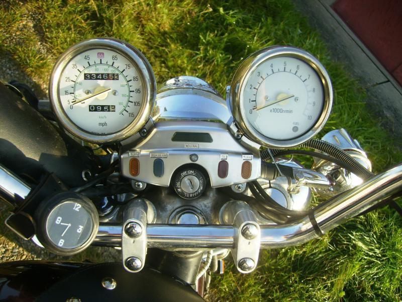Yamaha XV 1100 Virago bazar