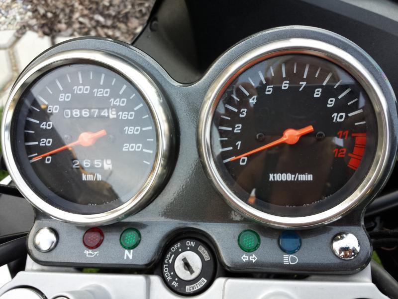 Suzuki GS 500 F bazar