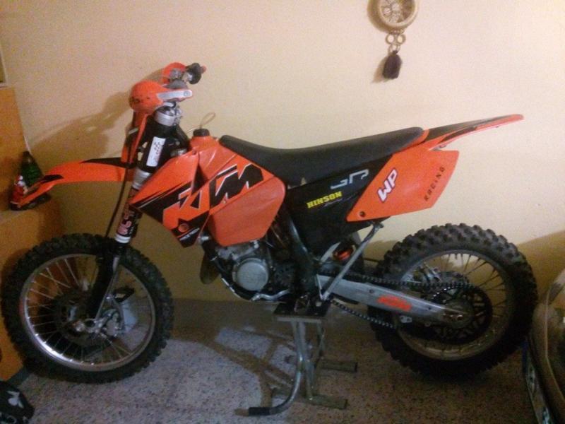KTM 125 EXC bazar