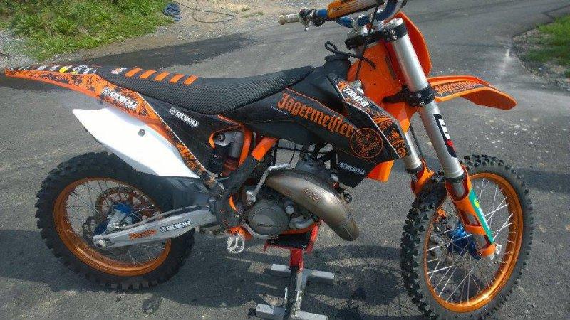 KTM 125 SX bazar