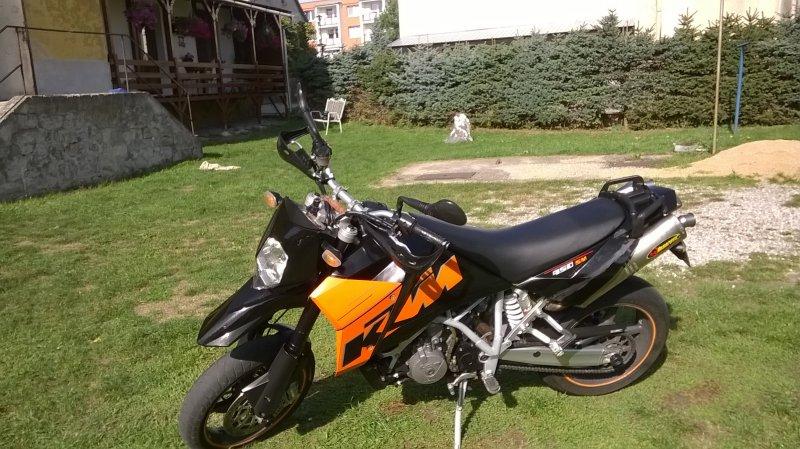 KTM 950 Supermoto bazar