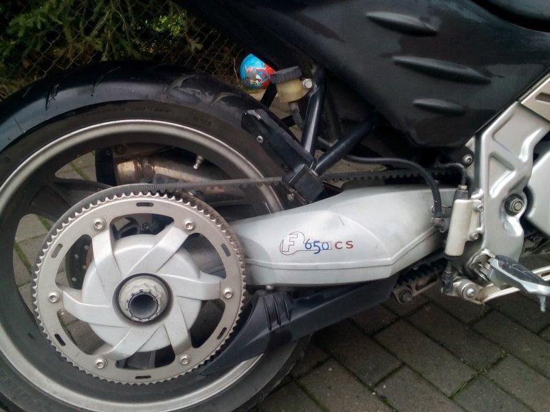 BMW F 650 CS Scarver bazar