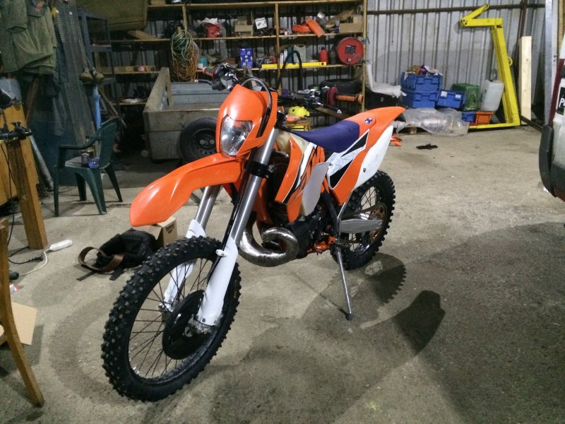 KTM 250 EXC bazar