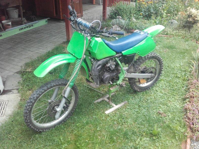 Kawasaki KX 80 bazar