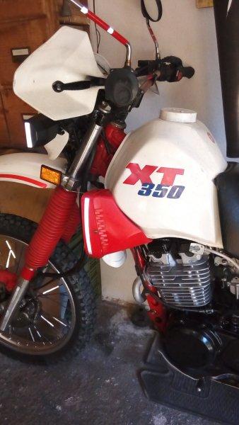 Yamaha XT 350 bazar