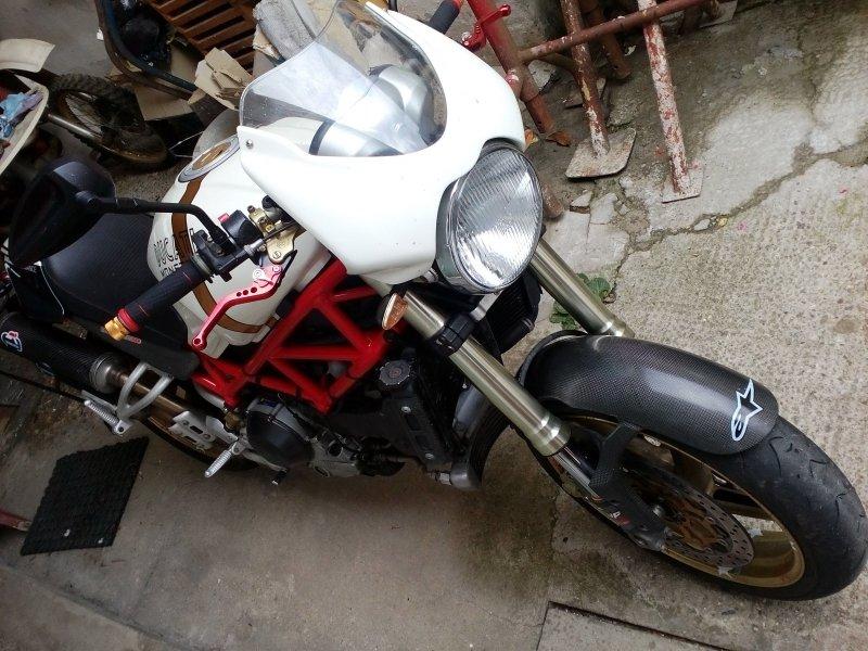 Ducati Monster S4R bazar