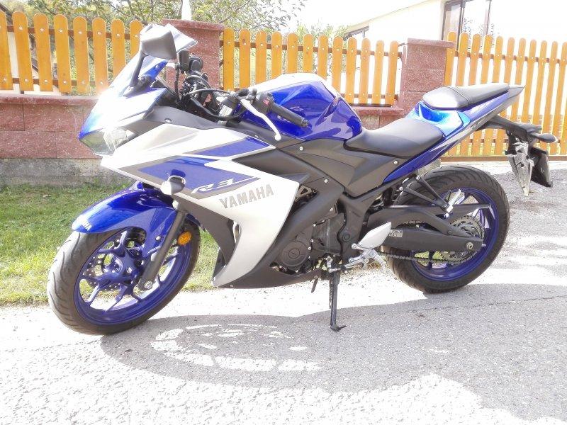 Yamaha YZF-R3 bazar