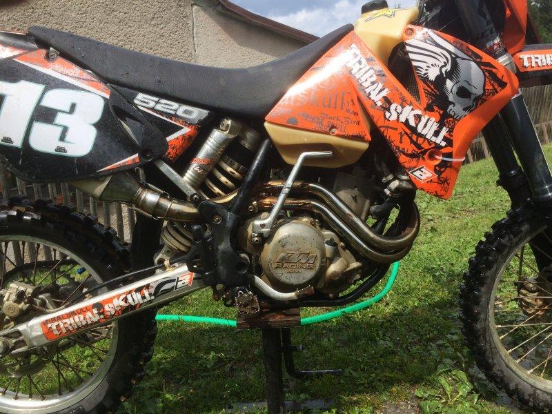 KTM 520 EXC Racing bazar