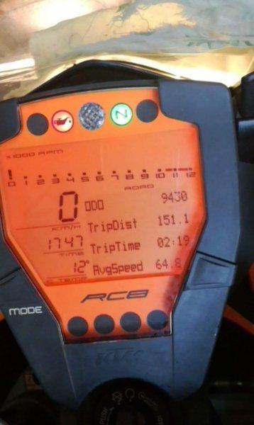 KTM 1190 RC8 bazar