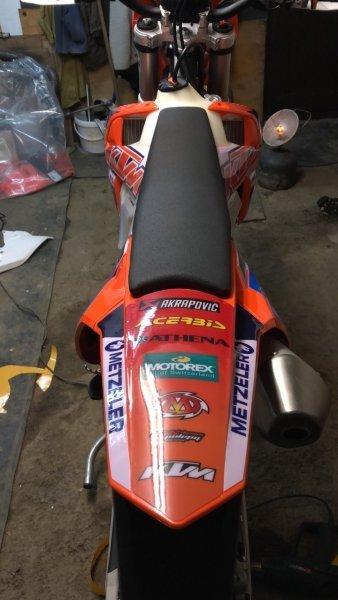 KTM 450 EXC Racing bazar
