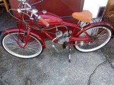 Bicykel so spalovacím motorom – CLASSIC